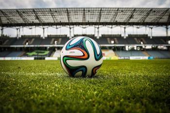Football, ballon, terrain, sport, gradins, stades